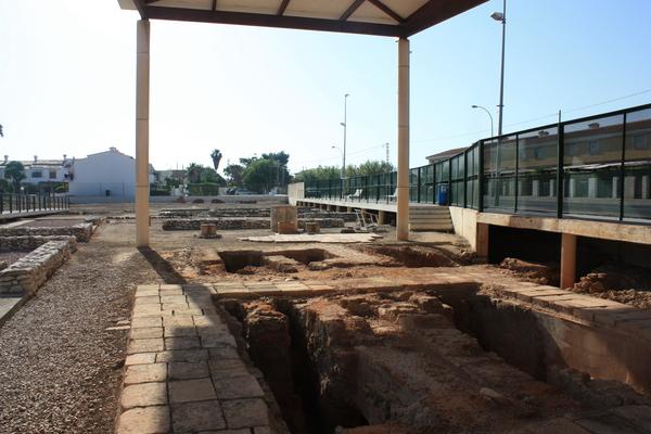 Vil·la romana de l'Almadrava. Foto: Josep A. Ahuir. Estiu de 2014