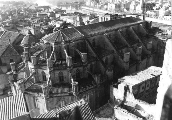 Catedral de Santa Maria, Tortosa (Baix Ebre) 1988. Autor: Victòria Almuni Balada. Generalitat de Catalunya, Departament de Cultura.