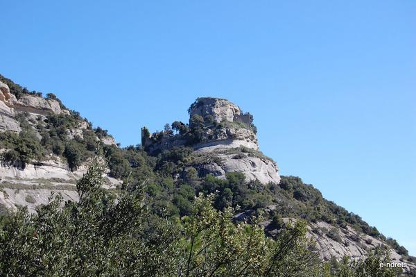 Panoràmica del Castell de Centelles