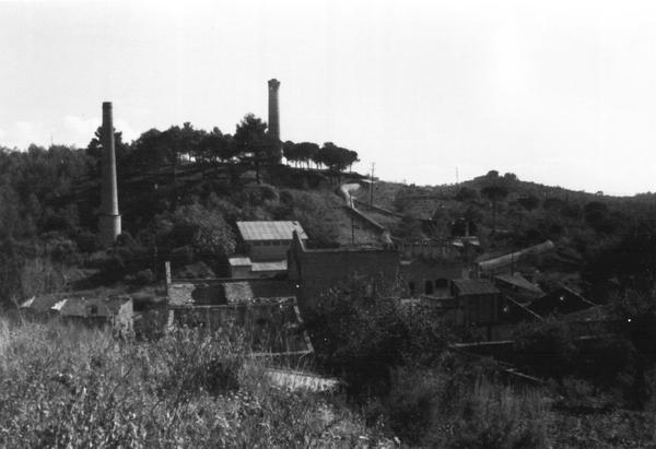 Imatge de les Mines de Plom de Bellmunt, Bellmunt del Priorat (Priorat) 1986. Autor: Albert González Masip. Generalitat de Catalunya, Departament de Cultura