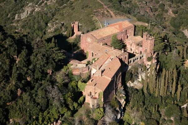 Castell Monestir d'Escornalbou (Riudecanyes, el Baix Camp). Imatge: AVIOTEC-MHC.