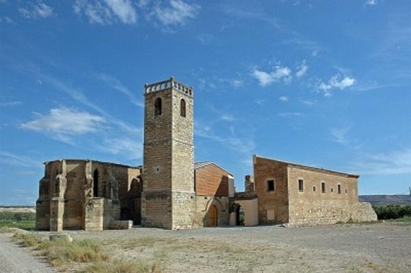Imatge del Convent de Nostra Senyora dels Àngels d'Avinganya. Seròs (Segrià). 2007. Autor: www.monestirs.cat, www.monestirs.cat/monst/segria/si29avin.htm