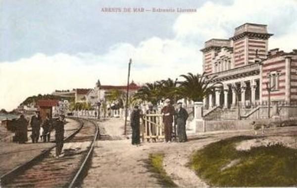 Balneari Lloveras (1909). Arxiu Pare Fidel Fita